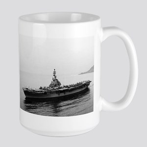 USS Essex Ship's Image Large Mug