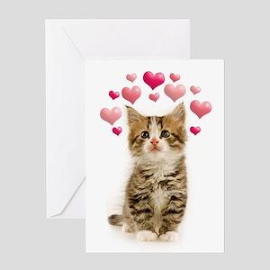 Funny Kitten Valentine's Day Card