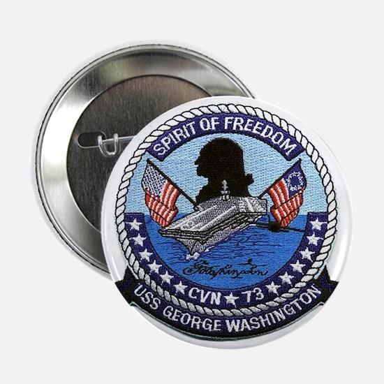 USS George Washington CVN 73 Button