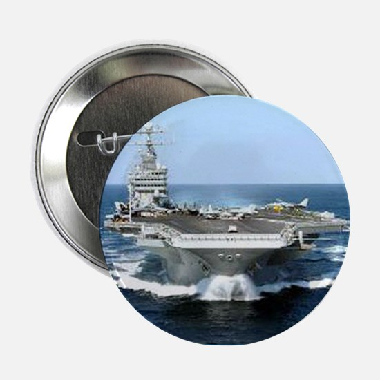 "USS George Washington Ship's Image 2.25"" Button"