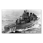USS ABBOT Sticker (Rectangle)