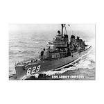 USS ABBOT Mini Poster Print