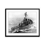 USS ABBOT Framed Panel Print