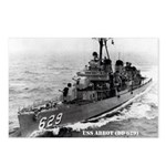 USS ABBOT Postcards (Package of 8)