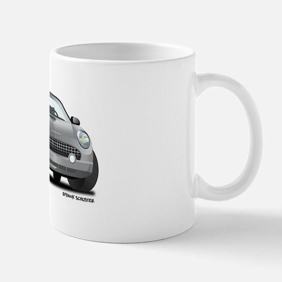 2002 05 Ford Thunderbird Silver Mug