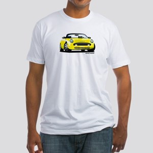 2002 05 Ford Thunderbird yellow Fitted T-Shirt