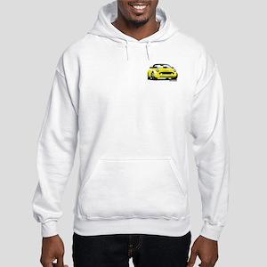 2002 05 Ford Thunderbird yellow Hooded Sweatshirt