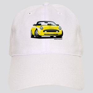 2002 05 Ford Thunderbird yellow Cap