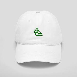 Green Sailboat Cap