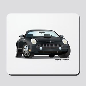 2002 05 Ford Thunderbird Blk Mousepad