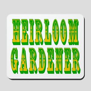 Heirloom Gardener Mousepad