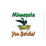Minnesota You Betcha Postcards (Package of 8)