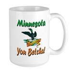 Minnesota You Betcha Large Mug