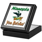 Minnesota You Betcha Keepsake Box