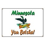 Minnesota You Betcha Banner