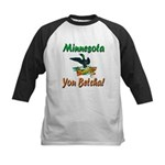 Minnesota You Betcha Kids Baseball Jersey
