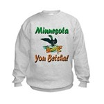 Minnesota You Betcha Kids Sweatshirt