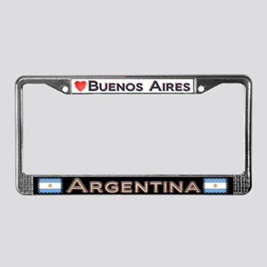 Buenos Aires, ARGENTINA - License Plate Frame