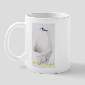 Urinal service Mug