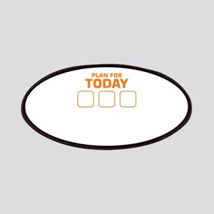 Plan For Today Waterski Beer Drinking Skiing Patch