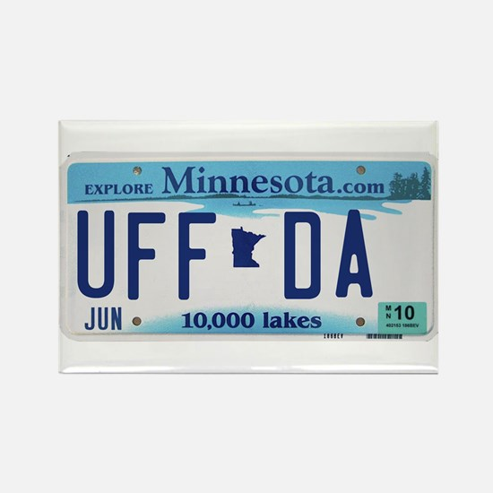 "Minnesota ""Uffda"" Rectangle Magnet"