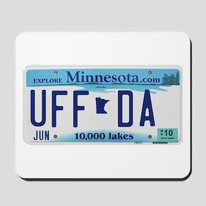 "Minnesota ""Uffda"" Mousepad"