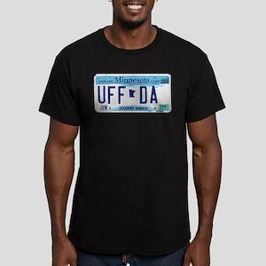 """Minnesota """"Uffda"""" Men's Fitted T-Shirt (dark)"""