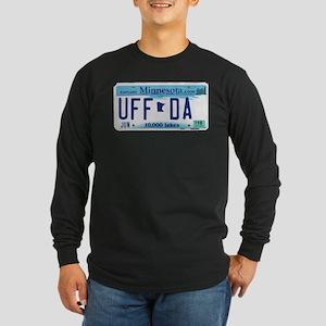 "Minnesota ""Uffda"" Long Sleeve Dark T-Shirt"