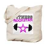 Fitness rockstar Tote Bag