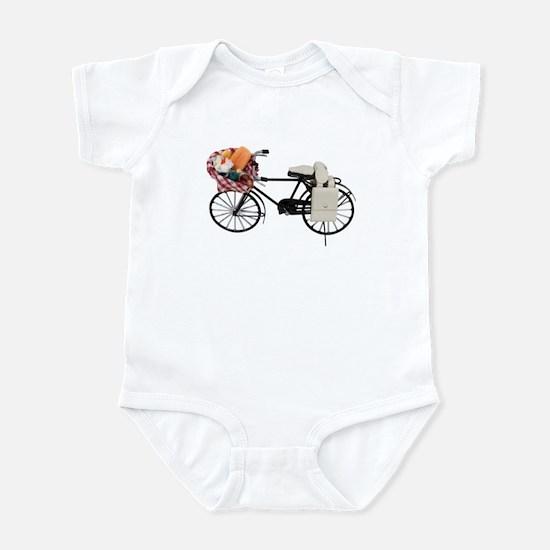 Bicycle picnic Infant Bodysuit