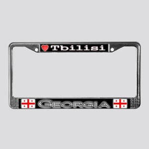 Tbilisi, GEORGIA - License Plate Frame