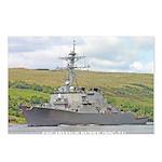 USS ARLEIGH BURKE Postcards (Package of 8)