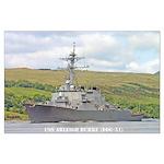 USS ARLEIGH BURKE Large Poster