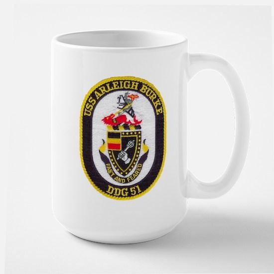 USS ARLEIGH BURKE Large Mug