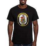 USS ARLEIGH BURKE Men's Fitted T-Shirt (dark)