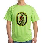 USS ARLEIGH BURKE Green T-Shirt