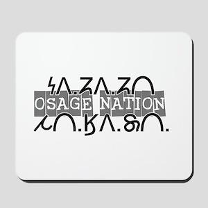 Osage Nation w/ Osage Writing Mousepad