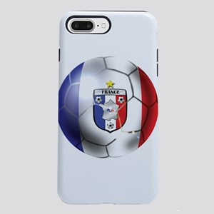 French Soccer Ball iPhone 7 Plus Tough Case