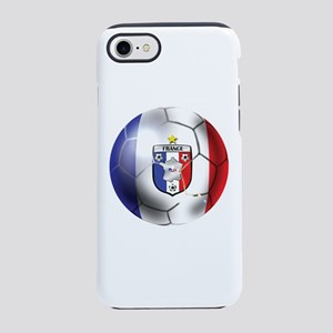 French Soccer Ball iPhone 7 Tough Case