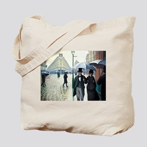 Paris Street, Rainy Day Tote Bag