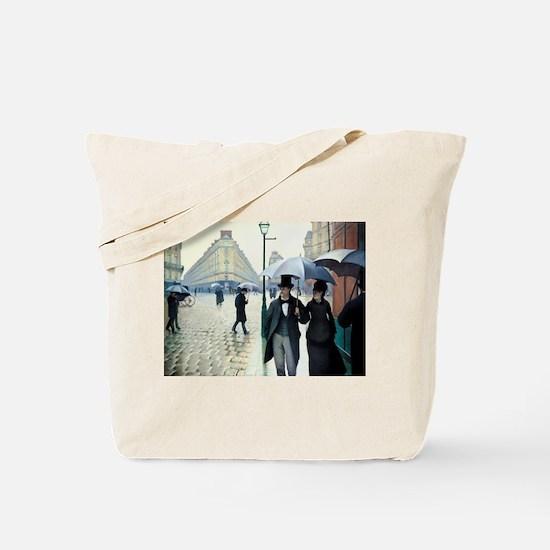 Paris Street, Rainy Day Tote Bag