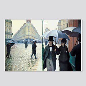 Paris Street, Rainy Day Postcards (Package of 8)