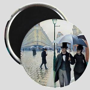 Paris Street, Rainy Day Magnet