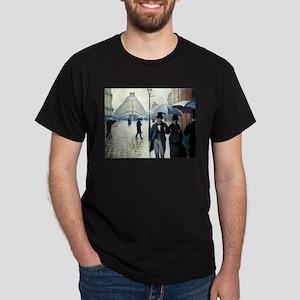 Paris Street, Rainy Day Dark T-Shirt