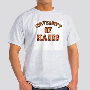 University Of Hades College Ash Grey T-Shirt