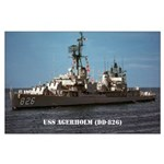 USS AGERHOLM Large Poster