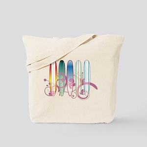 Board Swirl Tote Bag