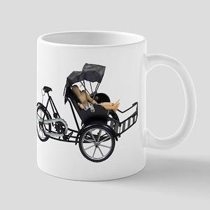 Energy efficient rickshaw Mug