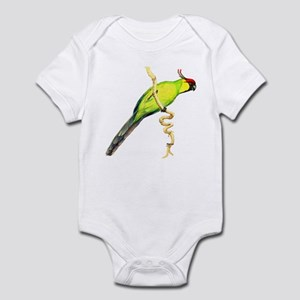 Solomon Island Horned Parakee Infant Bodysuit
