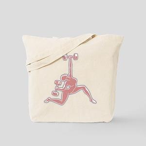Gym Goddess Tote Bag